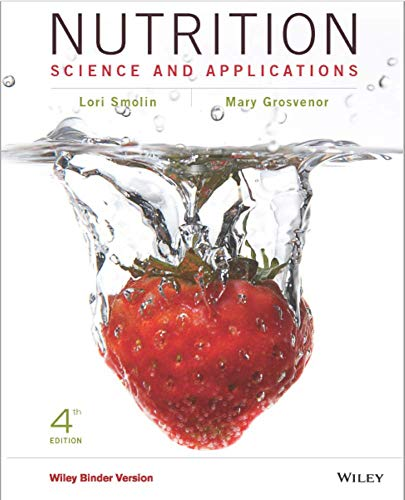 Nutrition: Science and Applications, Fourth Edition WileyPLUS Learning Space Card