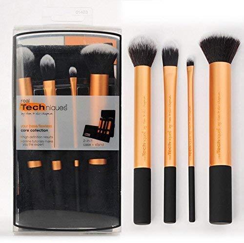 Real Techniques Coffret Essentiels 4 Pinceaux de Maquillage