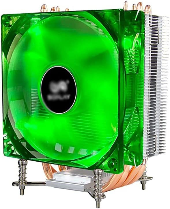 Gorgeous WCN Fans CPU Air Cooler with 4 Free Shipping Cheap Bargain Gift Un Processor PWM Heat 120mm Pipes