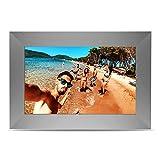 Marco de Fotos Digital SCISHION P100 de 10.1 Pulgadas Yuntab, chipset ChipTrip 1280HD, ángulo de visión de 179° (Gray)