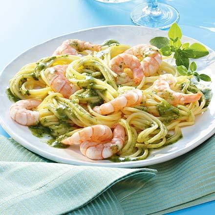 Besser Spaghetti mit Garnelen; 750 g
