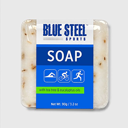 Blue Steel Sports BODY SOAP with Tea Tree and...