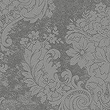 Duni Dunilin Servietten Royal Granit Grey 40 x 40 cm 1/4 Falz 45 Stück, Duni Servietten Royal Granit Grey