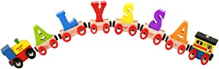 Bigjigs Rail CustomTrain - Pick Your Own 6 Letters and Numbers!