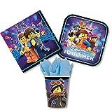 Unbekannt The Lego Movie 2 Party Set - Teller  Bec
