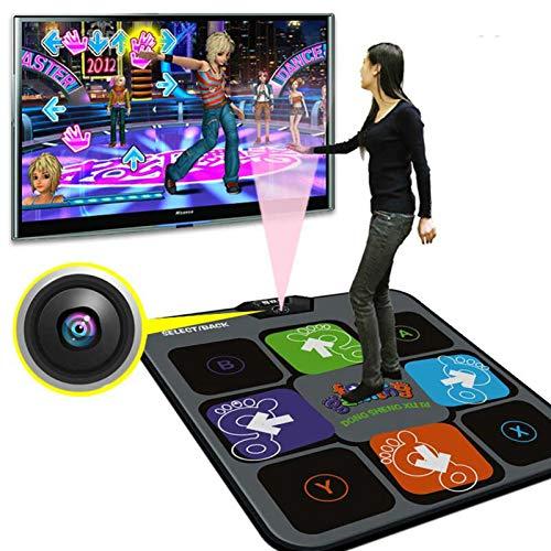 ダンスマット ソマトセンサーダンスマシン、ダンスマットTV USBコンピューターゲームカメラ肥厚シングルユーザー