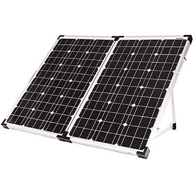 Go Power! By Valterra GP-PSK-130 Portable Solar Kit with 10A Controller - 130W