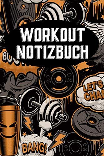 Workout Notizbuch | Retro Cartoon | Wochen Workout Planer | Fitness | Essensplan | Aufgaben | Tagesplaner | Checkliste | Sport | Bewegung | ... Erinnerungen | Gesundheit | Diät | Abnehmen |