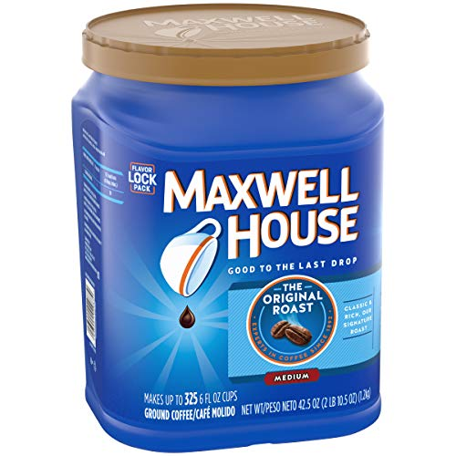 Maxwell House The Original Roast Ground Coffee, 42.5oz (Pack Of 4)