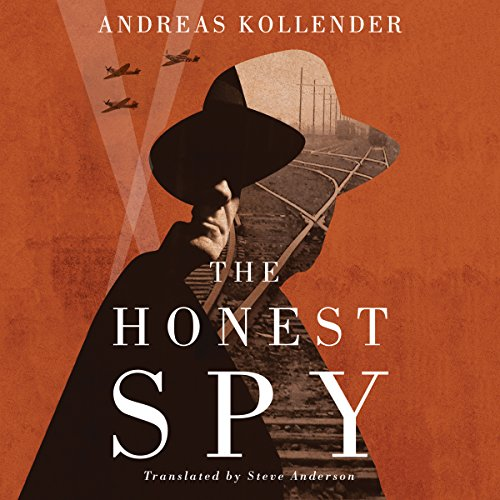 The Honest Spy audiobook cover art