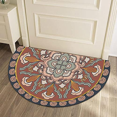 Tapis Semi-Circulaire American Nordic Ethnique Style Maison Tapis de Sol d