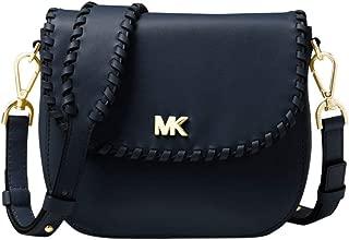 MICHAEL Michael Kors Leather and Suede Saddle Bag