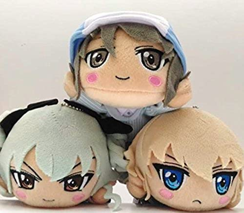 Theatrical Girls & Panzer Nesoberi stuffed captain vol.1 all three