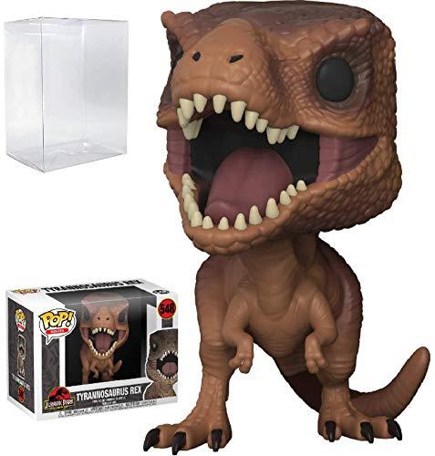 Funko Pop! Movies: Jurassic Park - Tyrannosaurus Rex Vinyl Figure (Bundled with Pop Box Protector Case)