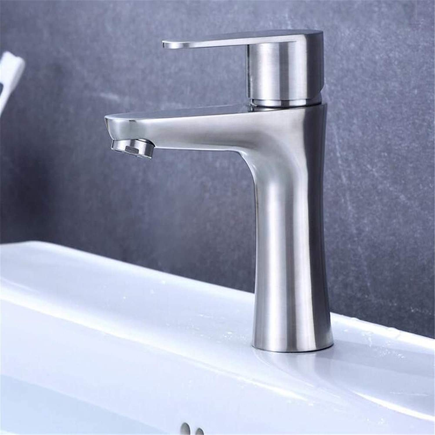 Basin Mixer Tap Stainless Steel Faucet Sanitary Ware Wholesale Hot and Cold Washbasin Faucet Bathroom Basin Basin Faucet