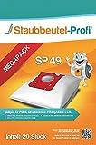 20 Staubsaugerbeutel geeignet für AEG VX4 EFFICIENCY von Staubbeutel-Profi®