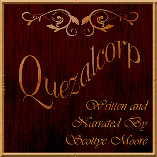 Quezalcorp audiobook cover art