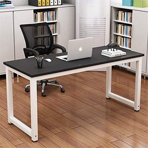 Decoración de muebles Escritorio de oficina de madera Escritorio de computadora Hogar Acero Computadora de madera Escritorio individual Escritorio para estudiantes Mesa de hierro Estación de trabaj