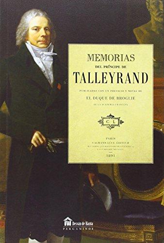 Memorias del príncipe de Talleyrand (Desvan De Hanta)