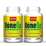 Jarrow Formulas BoneUp Vegetarian - 120 Tablets, Pack of 2 - Vegetarian/Vegan Supplement for Bone Health - Vegan-Friendly Sources of Vitamin D3, Vitamin K2 (as MK-7) & Calcium - 120 Total Servings