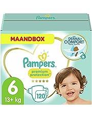 Pampers Premium Protection Luiers, MAANDBOX, onze Nummer 1 Luier voor Zachtheid en Bescherming van de Gevoelige Huid