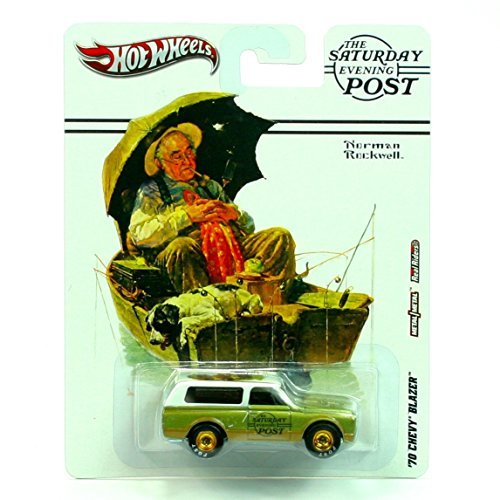 Hot Wheels 2012, The Saturday Evening Post, Norman Rockwell, '70 Chevy Blazer. 1:64 Scale Die cast.