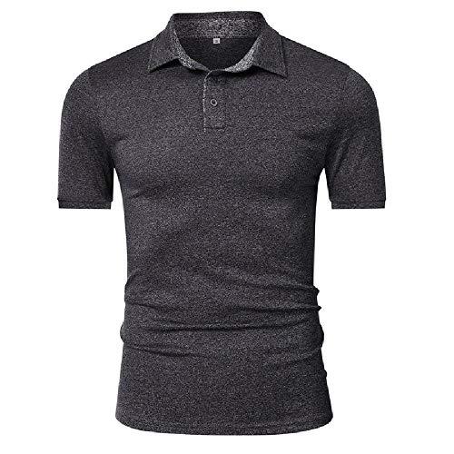 Polo de Golf de Gran tamaño para Hombre, Camiseta de Manga Corta, Camiseta Deportiva de Secado rápido para Hombres, Mono de Negocios para Hombres Europeos y estadounidenses