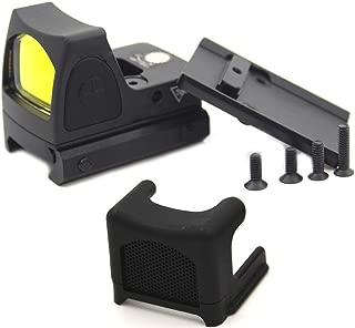 ELAN MILRE Mini RMR Red Dot Sight&Anti-Reflection Device Glock/Reflex Sight Scope fit 20mm Weaver Rail for Hunting