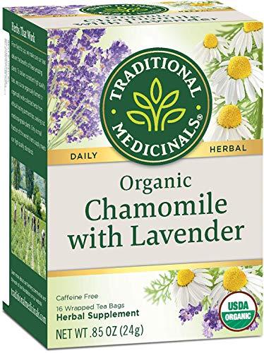 Traditional Medicinal's 100% Chamomile Tea w/Lavender (3x16 bag)