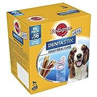Pedigree Dentastix Daily Oral Care Medium Dog 56 Sticks, 1.44kg