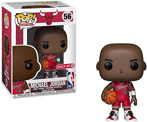 A-Generic NBA Basketball: Chicago Bulls # 56 Michael Jordan NO.23 Pop!