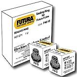 Hawkins Futura Rubber Gasket for 3L Pressure Cooker and Safety Valve, Black