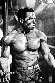 Arnold Schwarzenegger Commando B&W 24x18 Poster