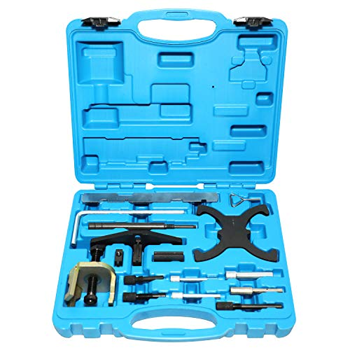 DPTOOL Engine Timing Tool Compatible with Ford 1.25 1.4 1.7 1.8 2.0 Di/TDCi/TDDi 1.6 16V Ti-VCT Mazda 1.4 1.6 HDI Engine (Not Work on 1.5T 1.6L Engine)