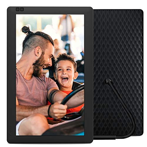 YENOCK Digital Picture Frame,10 Inch WiF Digital Photo Frame,HD IPS Motion Sensor Electronic with Touch Screen,16GB Storage Space,APP//Facebook//Twitter,Etc Share Photos Or Videos Instantly