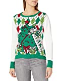 Elf on Ladder Ugly Christmas Sweater