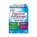 Prebiotic Fiber Plus Probiotic Tablets, Digestive Advantage (32 Count...