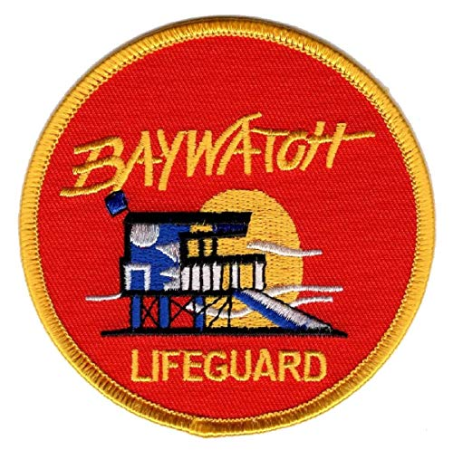Iron on Baywatch TV Series Lifeguard PAtch