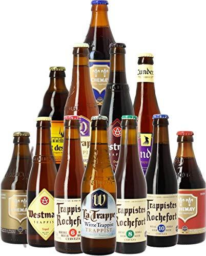 Craft Beer Box - Biertasting - Probierpaket (12 Trappisten-Bierspezialitäten)