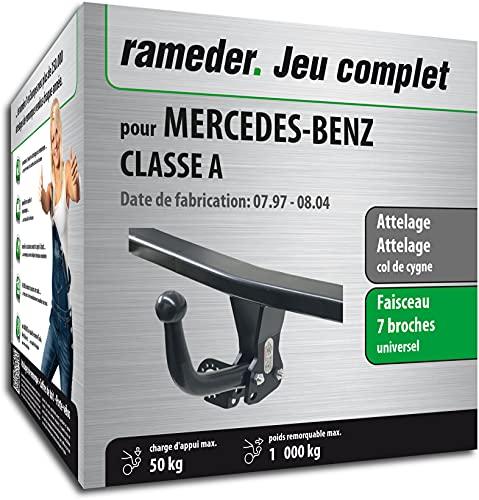 Rameder Pack, attelage démontable avec Outil + Faisceau 7 Broches Compatible avec Mercedes-Benz Classe A (129835-01982-1-FR).