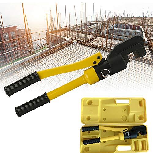 8T 4-16mm hydraulischer Bolzenschneider Stahlschneider Baustahlschneider mit Kasten