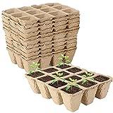 SUNSK Macetas Biodegradables Bandejas De Plántulas Macetas de Turba Tazas De Vivero para Plantas Macetas De Cultivo Tazas para Criar Plantas 10 Piezas