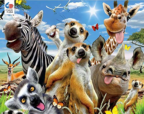Masterpieces Selfies Jigsaw Puzzle Goofy Grins 100Piece