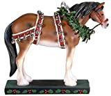 Westland Giftware Christmas Clydesdale PAINTED PONIES horse FIGURINE