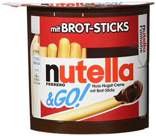 nutella & GO Vorratspack, 12er Pack (12 x 52 g Packung)