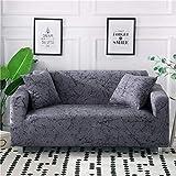 PPMP Funda de sofá elástica elástica para Sala de Estar Fundas universales para sillas Funda de sofá seccional Funda de sillón en Forma de L A12 4 plazas