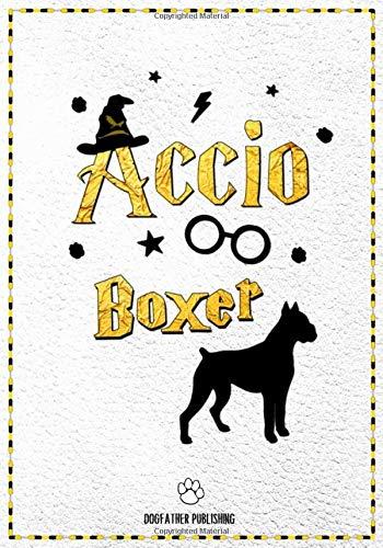 Accio Boxer: 120 Page Boxer Notebook ~ Accio Journal (7x10)