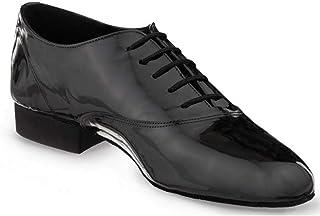 Rummos Hombres Zapatos de Baile Elite Flexman 240 - Nobuk Gris - Normal - 3.5 cm Estándar - Made in Portugal