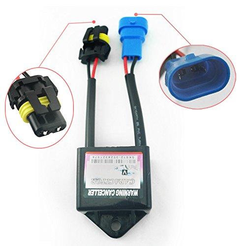 FEELDO Kit Xenon HID anti-scintillement pour voiture - Condensateurs H1 H3 H4 H7