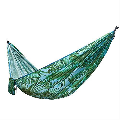 N/A Hammock outdoor swing indoor home single double adult children sleeping chair outdoor anti-roll Banana leaf hammock 270 x 140
